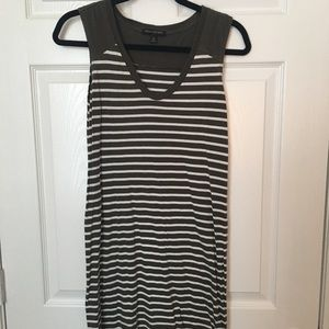Banana Republic Sleeveless Tshirt Dress